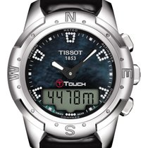 Tissot T-Touch II Титан 43.3mm Перламутровый