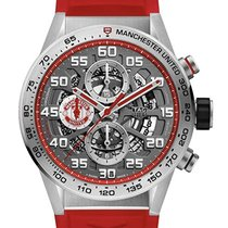 TAG Heuer Carrera Calibre HEUER 01 Acier 43mm Transparent