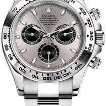 Rolex Daytona White gold 40mm Silver Arabic numerals United States of America, New Jersey, Totowa