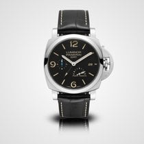 Panerai Luminor 1950 3 Days GMT Power Reserve Automatic Acier 44mm Noir Arabes