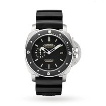 Panerai Luminor Submersible 1950 3 Days Automatic Titanium 47mm Black No numerals United States of America, Iowa, Des Moines