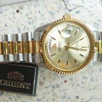 Orient Stål 36mm Automatisk FEVO3000GY ny