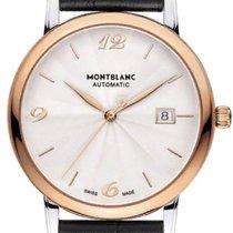 Montblanc Star Classique Steel 38mm Silver Arabic numerals
