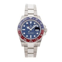 Rolex GMT-Master II White gold 40mm Blue No numerals Australia, Noosa