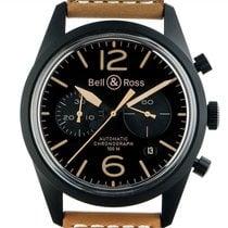 Bell & Ross BR V1 новые Автоподзавод Хронограф Часы с оригинальной коробкой BRV126