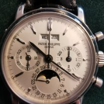 Patek Philippe Or blanc 36mm Remontage manuel 3970 G occasion