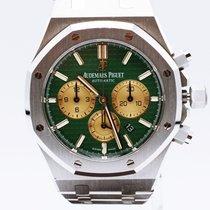 Audemars Piguet Platine Remontage automatique Vert 41mm occasion Royal Oak Chronograph