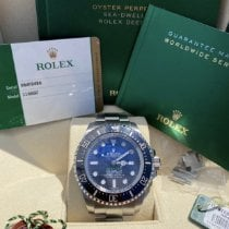 Rolex Sea-Dweller Deepsea Acier 44mm Bleu Sans chiffres France, Bastia