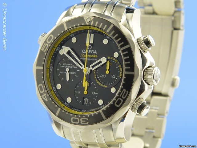 Omega Seamaster Diver 300M Chronograph Co Axial 44 mm