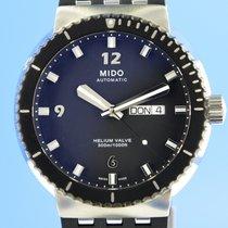 Mido All Dial Stal 43.5mm Czarny