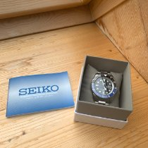 Seiko SNZF17K1 Steel 5 Sports 41mm pre-owned