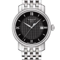 Tissot Bridgeport Acero 40mm Negro Romanos España, Spain