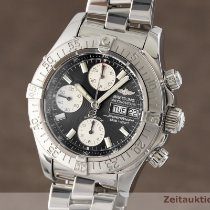Breitling Superocean Chronograph II Zeljezo 42mm Crn