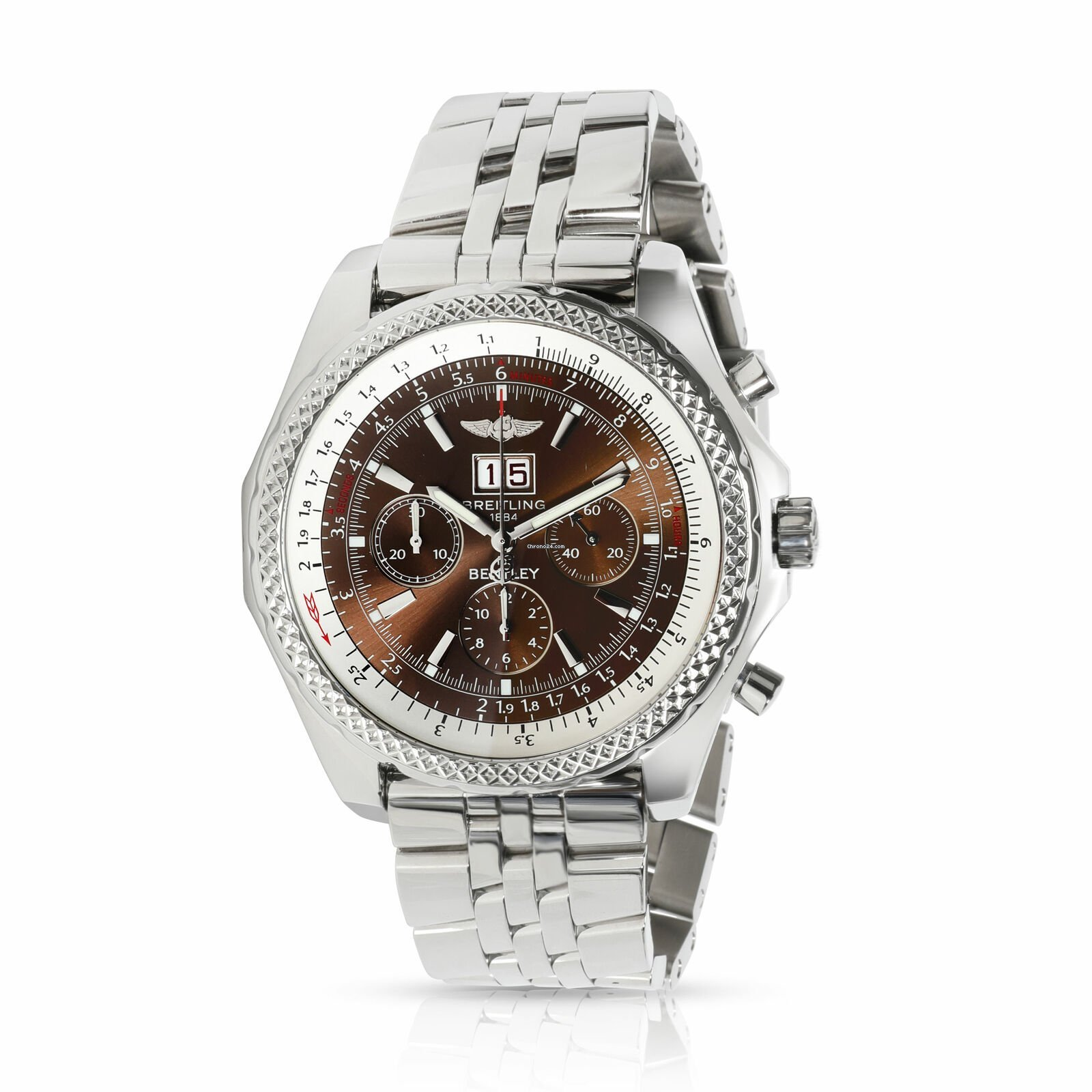 Breitling Bentley 6 75 A4436212 Q504 Men S Watch In Stainless For S 7 796 For Sale From A Trusted Seller On Chrono24