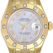 Rolex Lady-Datejust Pearlmaster Oro amarillo 29mm Madreperla Romanos