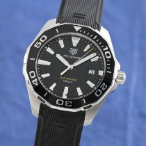 TAG Heuer Aquaracer pre-owned 43mm Black Date Rubber