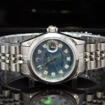 Rolex Oyster Perpetual Lady Date Steel 26mm Blue