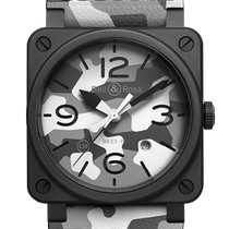 Bell & Ross BR 03-92 Ceramic BR0392-CG-CE/SCA New Ceramic 42mm Automatic