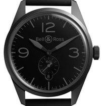 Bell & Ross BR V1 Zeljezo 41mm Crn Arapski brojevi