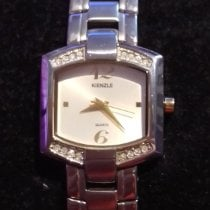 Kienzle Steel Quartz White Arabic numerals 22mm pre-owned