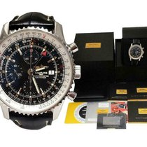 Breitling Navitimer World Steel 46mm Black United States of America, North Carolina, Charlotte