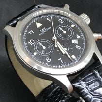 IWC IW3741 Steel 1999 Pilot Chronograph 36mm pre-owned