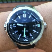 IWC Aquatimer Automatic Steel 42mm Black No numerals United States of America, New Jersey, Morganville