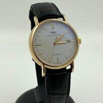 IWC Portofino Automatic Pозовое золото 39mm Белый Без цифр