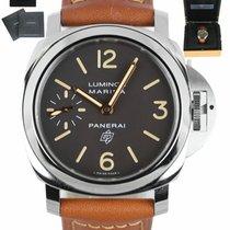 Panerai Luminor Marina pre-owned 44mm Brown Leather