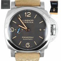 Panerai Luminor Marina 1950 3 Days Automatic Titanium 44mm Brown Arabic numerals United States of America, New York, Smithtown