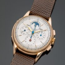 Universal Genève Compax Rose gold 37mm Silver United Kingdom, Tetbury