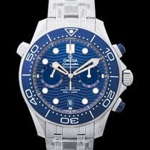 Omega Seamaster Diver 300 M Steel 44mm Blue United States of America, California, Burlingame
