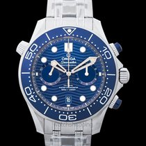 Omega Seamaster Diver 300 M Steel 44mm Blue United States of America, California, Burlingame
