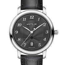 Montblanc Star Steel 39mm Grey Arabic numerals