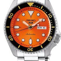 Seiko 5 Sports Steel 42.5mm Orange