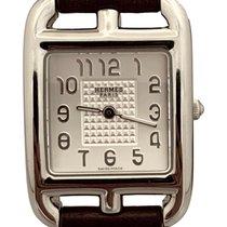 Hermès pre-owned Quartz 23mm Silver Glass