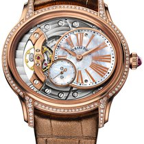 Audemars Piguet Millenary Ladies Pозовое золото 39mm Перламутровый Римские