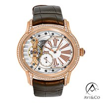 Audemars Piguet Millenary Ladies Rose gold 39mm Mother of pearl Roman numerals United States of America, New York, New York