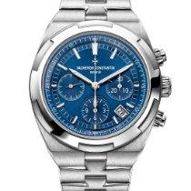 Vacheron Constantin Overseas Chronograph Otel 42.5mm Albastru Fara cifre