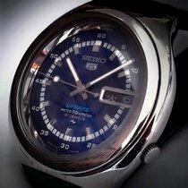 Seiko 5 Sports Steel 39mm Blue