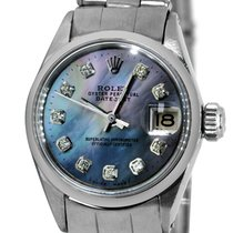 Rolex Datejust Steel 26mm Mother of pearl No numerals United States of America, New York, NEW YORK CITY