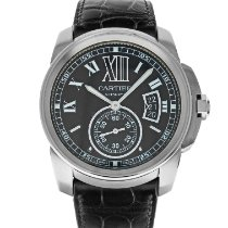 Cartier Calibre de Cartier Steel 42mm Black Roman numerals United States of America, Maryland, Baltimore, MD