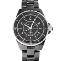 Chanel J12 Ceramic 38mm Black Arabic numerals United States of America, Maryland, Baltimore, MD