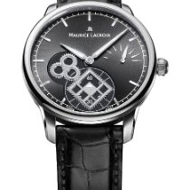 Maurice Lacroix new Manual winding Display back Power Reserve Display 43mm Steel Sapphire crystal