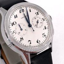 Longines Heritage Steel 40mm White Arabic numerals