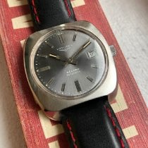 Longines Record pre-owned Leather