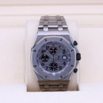 Audemars Piguet Royal Oak Offshore Chronograph Titanium 42mm Grey Arabic numerals