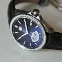 TAG Heuer Grand Carrera Acier 40mm Brun