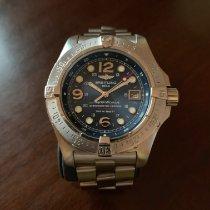 Breitling Superocean Steelfish Steel 44mm Blue Arabic numerals United States of America, Oklahoma, Broken Arrow