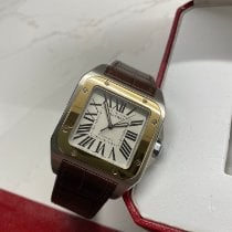 Cartier Santos 100 W20072X7 Neuve Or/Acier 38mm Remontage automatique France, Paris